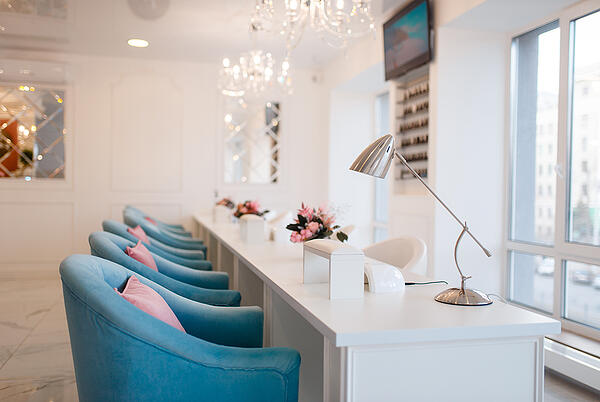 nail salon empy blue chairs_shutterstock_1431099449_lowres